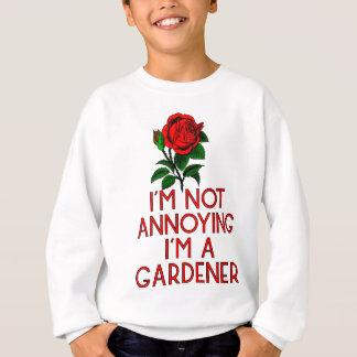Sweatshirt Jardinier jardin fleurs Veggie plantes arbre