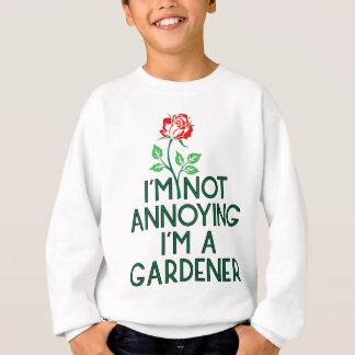 Sweatshirt Jardinier jardin fleurs Veggie plantes Floristin