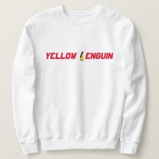 Sweatshirt jaune de classique de club de pingouin