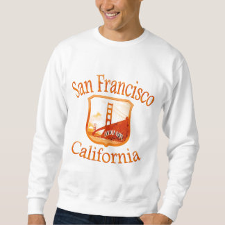 Sweatshirt Jaune rouge de San Francisco