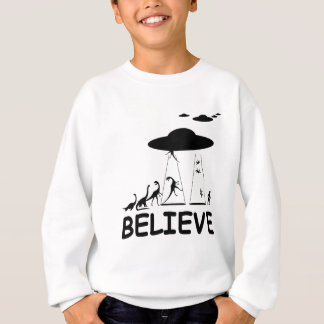 Sweatshirt Je crois en aliens