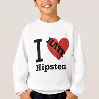 Sweatshirt Je déteste des hippies