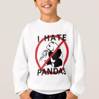 Sweatshirt Je déteste des pandas