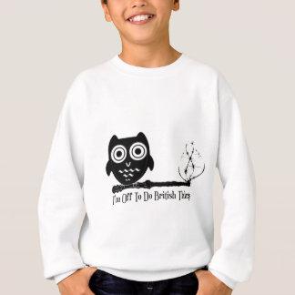 Sweatshirt Je ne suis pas en ligne faire des choses