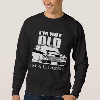 Sweatshirt Je ne suis pas vieux je suis une voiture classique