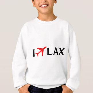 Sweatshirt Je pilote l'aéroport international de LAX - de Los