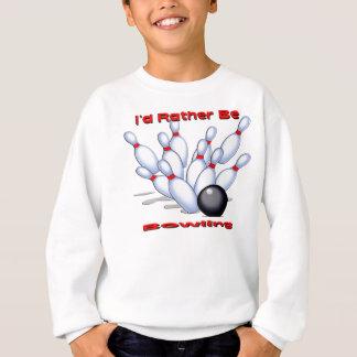 Sweatshirt Je roulerais plutôt