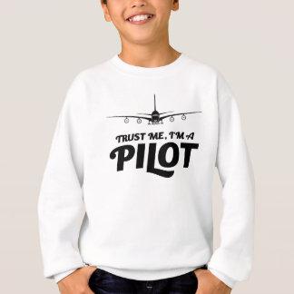 Sweatshirt Je suis un pilote