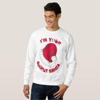 Sweatshirt Je suis vos vacances laides secrètes de Noël du