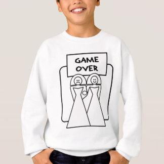 "Sweatshirt ""Jeu au-dessus"" du mariage (homosexuel)"