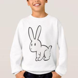 Sweatshirt Jeune et mignon lapin blanc
