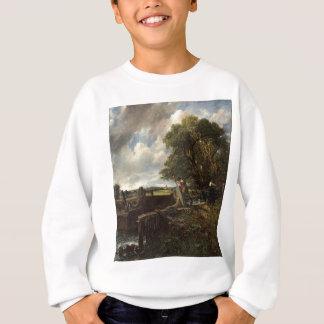 Sweatshirt John Constable - la serrure - paysage de campagne