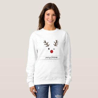 Sweatshirt Joyeux Noël de Rudolf