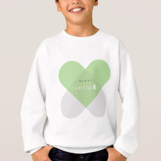 Sweatshirt Joyeux Noël - vert