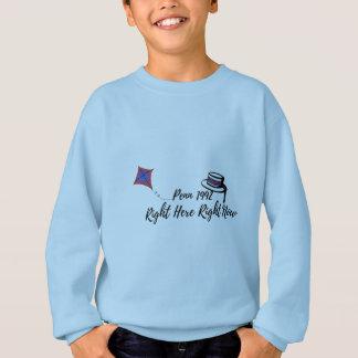 Sweatshirt Juste ici, en ce moment