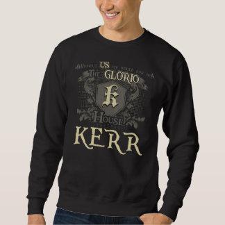 Sweatshirt KERR de Chambre. Chemise de cadeau pour