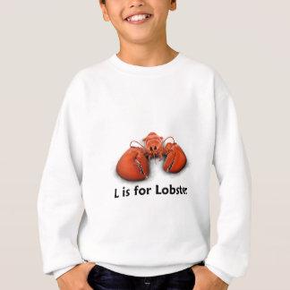 Sweatshirt L est pour le homard