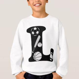 Sweatshirt l initial