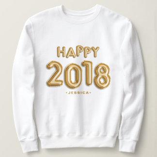 Sweatshirt La feuille d'or monte en ballon 2018 heureux