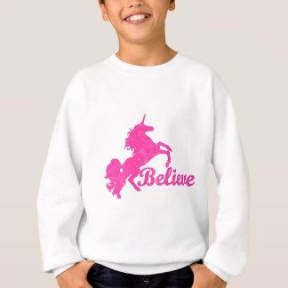 Sweatshirt La licorne, croient