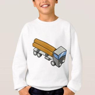 Sweatshirt La livraison en bois