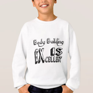 Sweatshirt La musculation est excellente