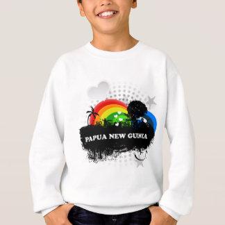Sweatshirt La Papouasie-Nouvelle-Guinée fruitée mignonne