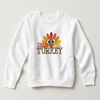 Sweatshirt La petite dinde badine le thanksgiving unisexe