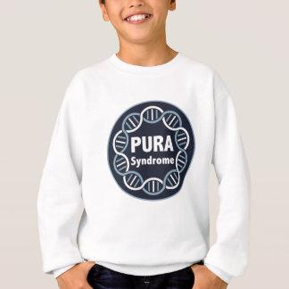 Sweatshirt La pièce en t de l'enfant d'usage de logo de PURA