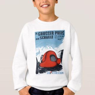 Sweatshirt La Suisse 1937 Grand prix emballant l'affiche
