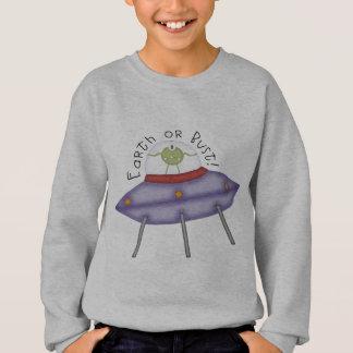 Sweatshirt La terre ou alien de buste