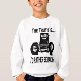 Sweatshirt La vérité est non aile