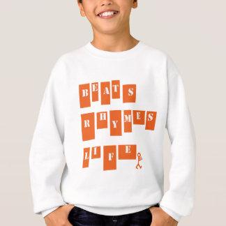 Sweatshirt La vie de rimes de battements