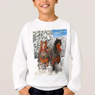Sweatshirt Labourage de chevaux