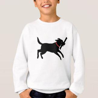Sweatshirt Labrador retriever (noir)