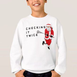Sweatshirt Lacrosse drôle