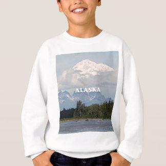 Sweatshirt L'Alaska : Denali, forêt, rivière, montagnes,