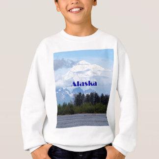 Sweatshirt L'Alaska : Denali, forêt, rivière, montagnes 1