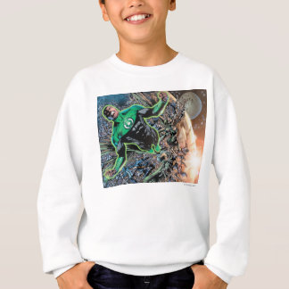 Sweatshirt Lanterne verte et la lune