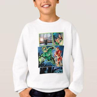 Sweatshirt Lanterne verte et le panneau instantané