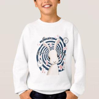 Sweatshirt Lapin blanc au pays des merveilles