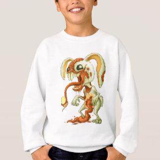 Sweatshirt Lapin de Pâques de zombi