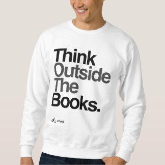 Sweatshirt L'athée pensent en dehors des livres