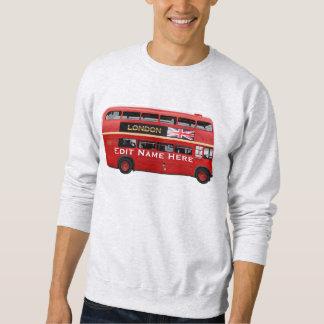 Sweatshirt L'autobus rouge de Londres