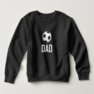 Sweatshirt Le ballon de football folâtre le papa