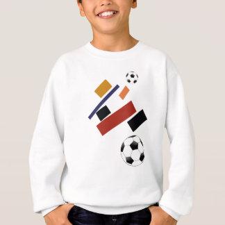 Sweatshirt Le ballon de football superbe, après Malevich