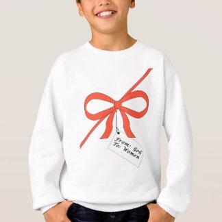 Sweatshirt Le cadeau de Dieu à la pièce en t de femmes