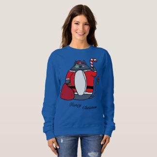 Sweatshirt Le chandail des femmes de fantaisie de Noël