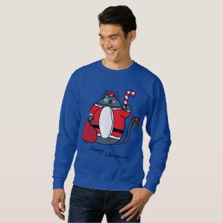 Sweatshirt Le chandail des hommes de fantaisie de Noël