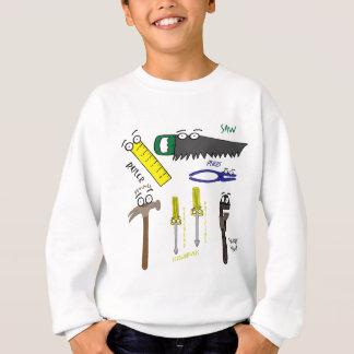 Sweatshirt Le charpentier usine l'art lunatique de bande